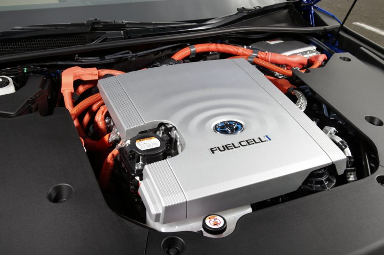 Toyota Mirai hydrogène