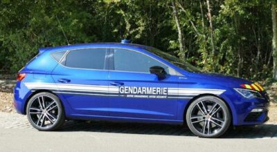 Leon Cupra gendarmerie