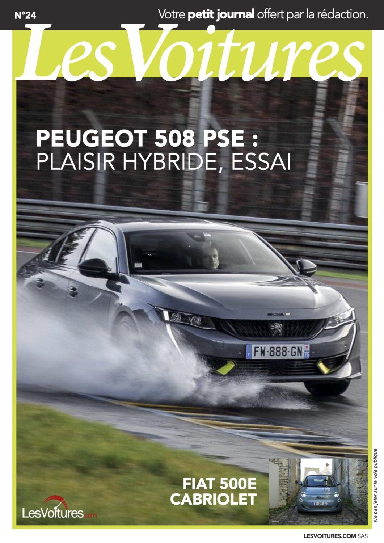 24 – Peugeot 508 PSE & Fiat 500e