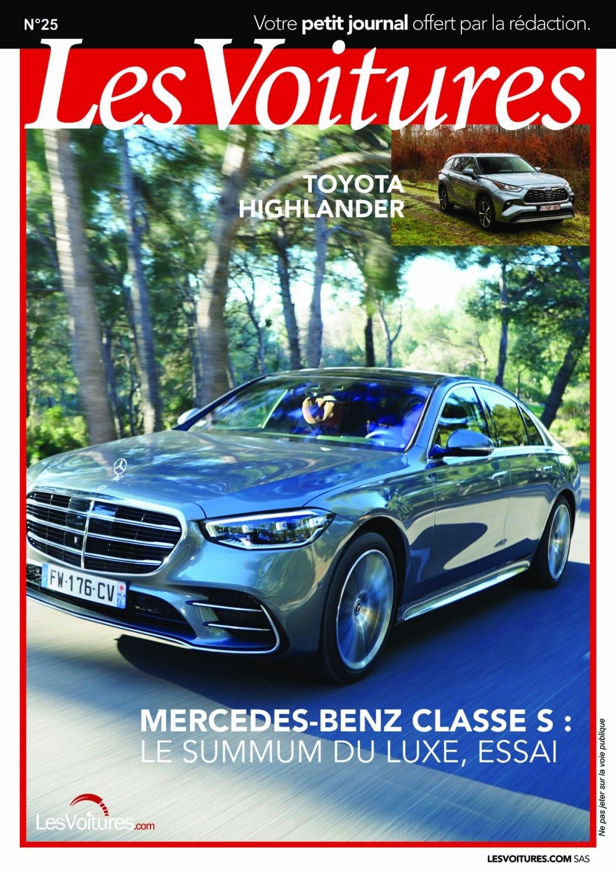 25 – Mercedes-Benz Classe S & Toyota Highlander