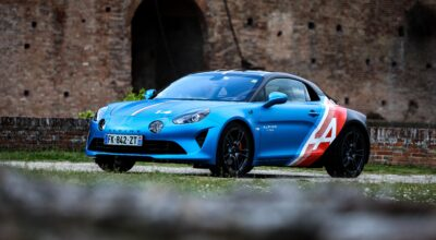 Alpine A110 Trackside Alpine A110S