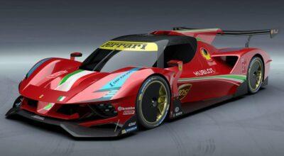 Hypercar Ferrari Le Mans