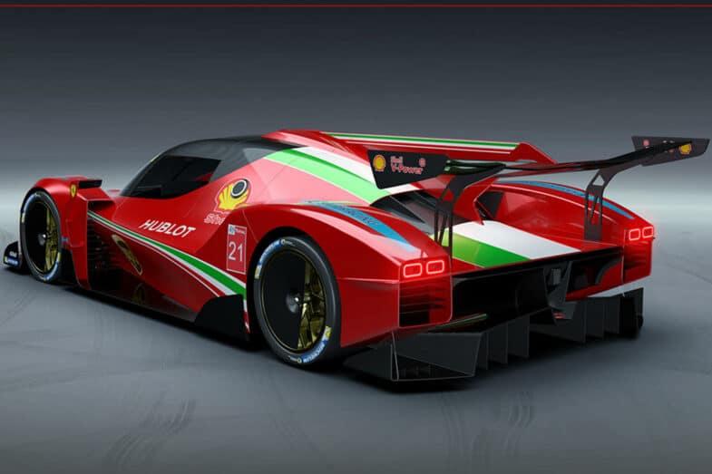 Hypercar Ferrari 24 Heures du Mans