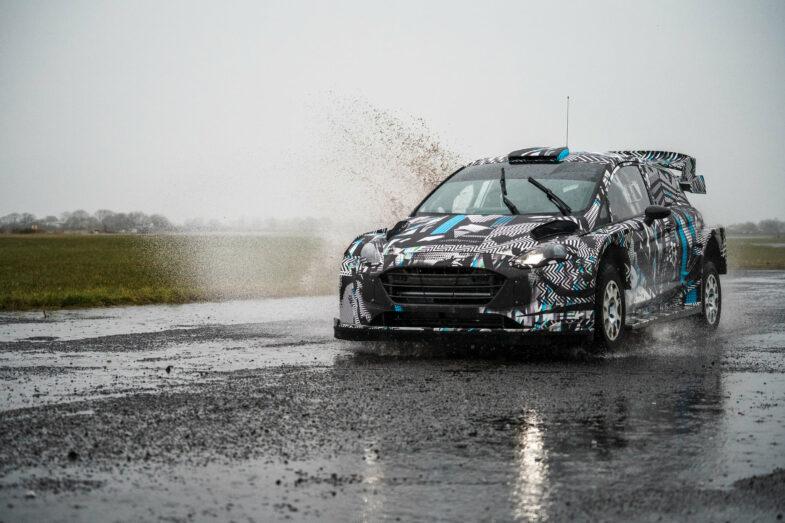 Ford Fiesta Hybrid WRC 2022
