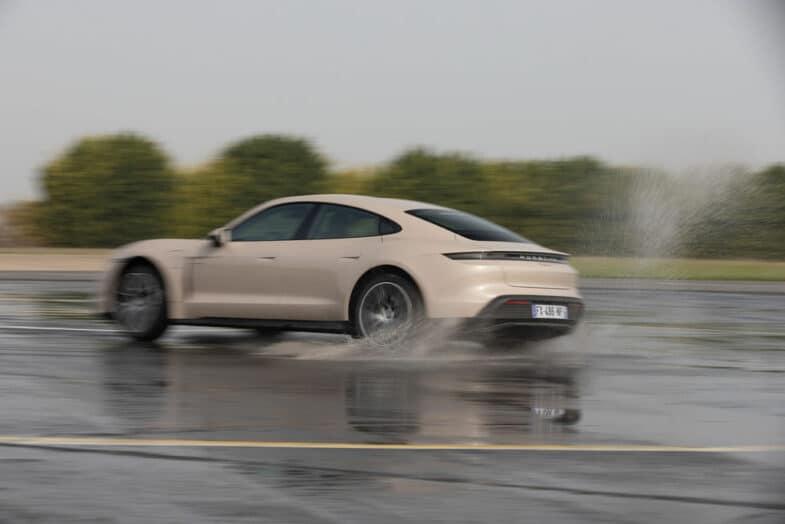 essai Porsche Taycan