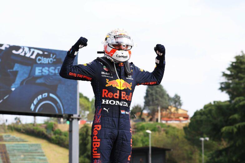 GP d'Emilie Romagne Max Verstappen
