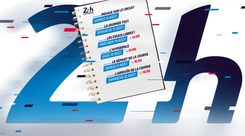 programme 24 Heures du Mans 2021