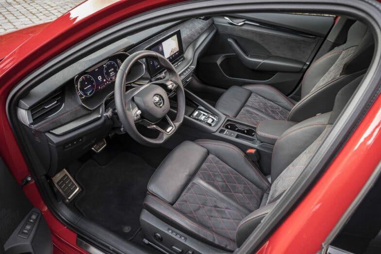 essai Skoda Octavia RS iV