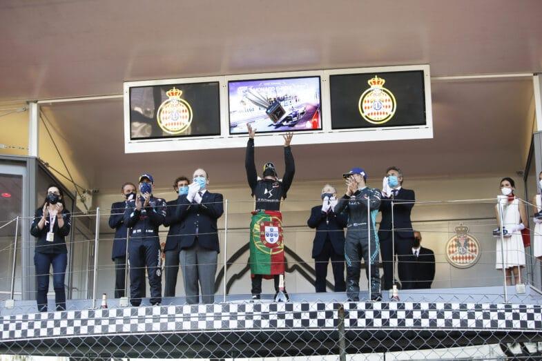 E Prix de Monaco Formula E 2021 António Félix da Costa