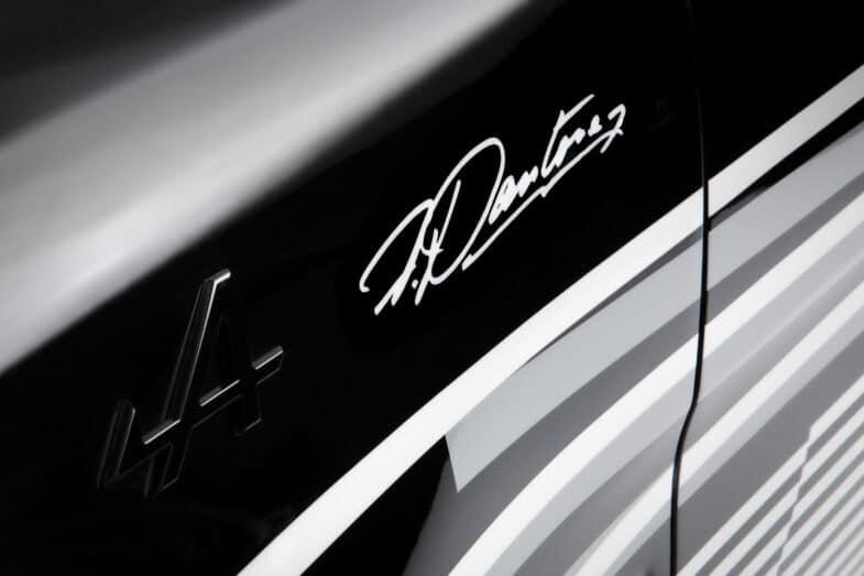 Alpine A110 X Felipe Pantone Art Car