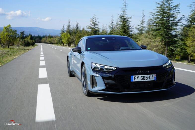 essai Audi RS e tron GT