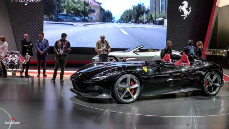 Ferrari Monza SP2 Cristiano Ronaldo CR7