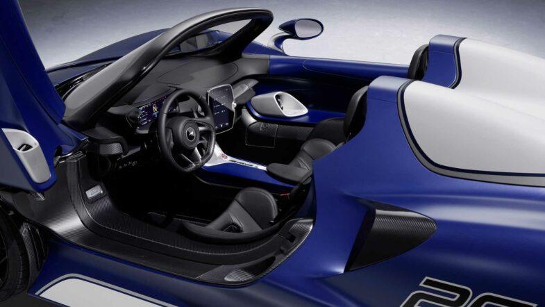 McLaren Elva pare-brise speedster