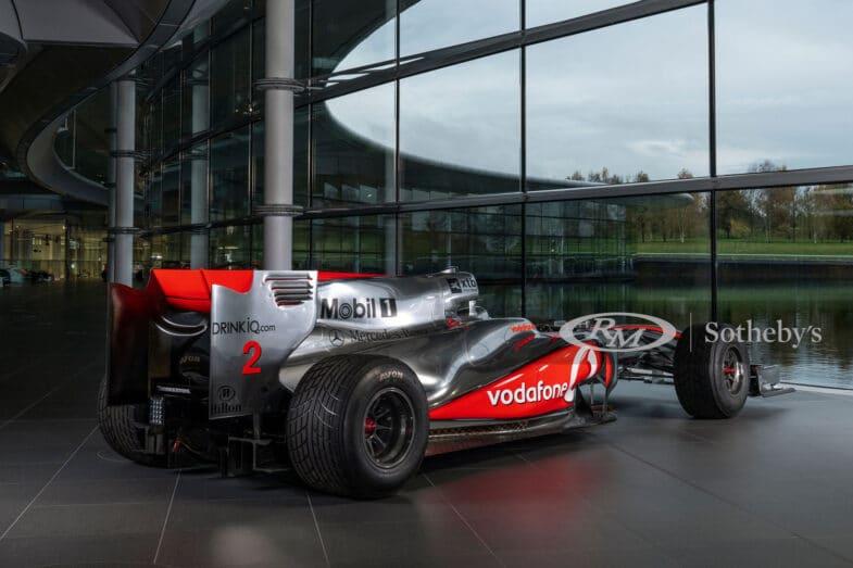 McLaren MP4 24 Lewis Hamilton