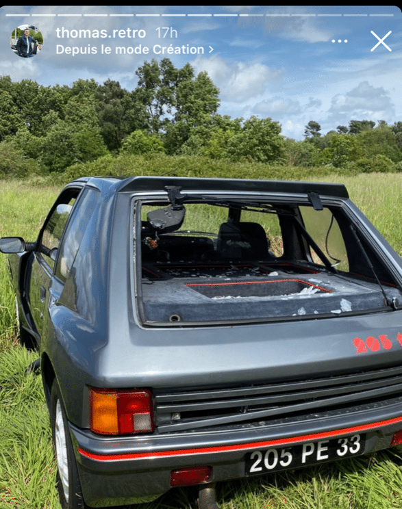 Renault 5 Turbo Peugeot 205 T16