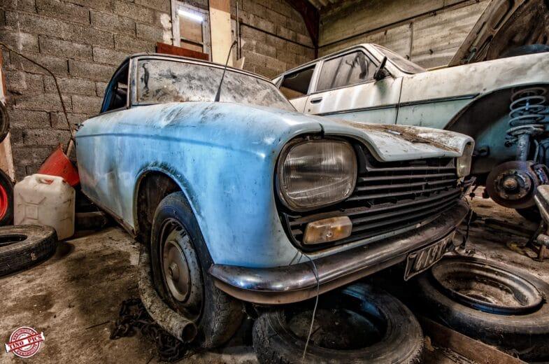 Urbex Garage Poussette