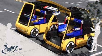 voiture Ikea Renault électrique