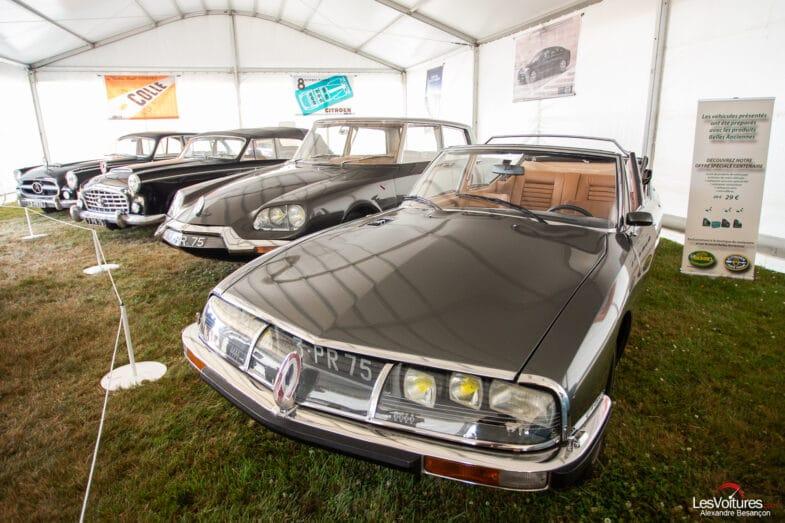 voitures des présidents