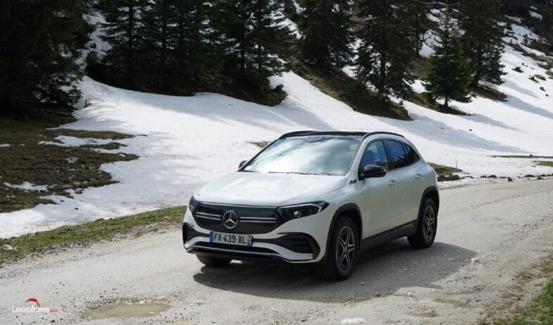 essai Mercedes EQA Mercedes-Benz EQA