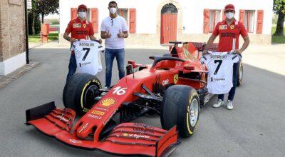 F1 Ferrari Monza SP2 Cristiano Ronaldo CR7