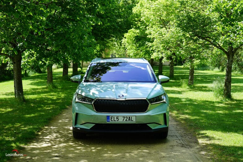 essai Skoda Enyaq iV SUV électrique