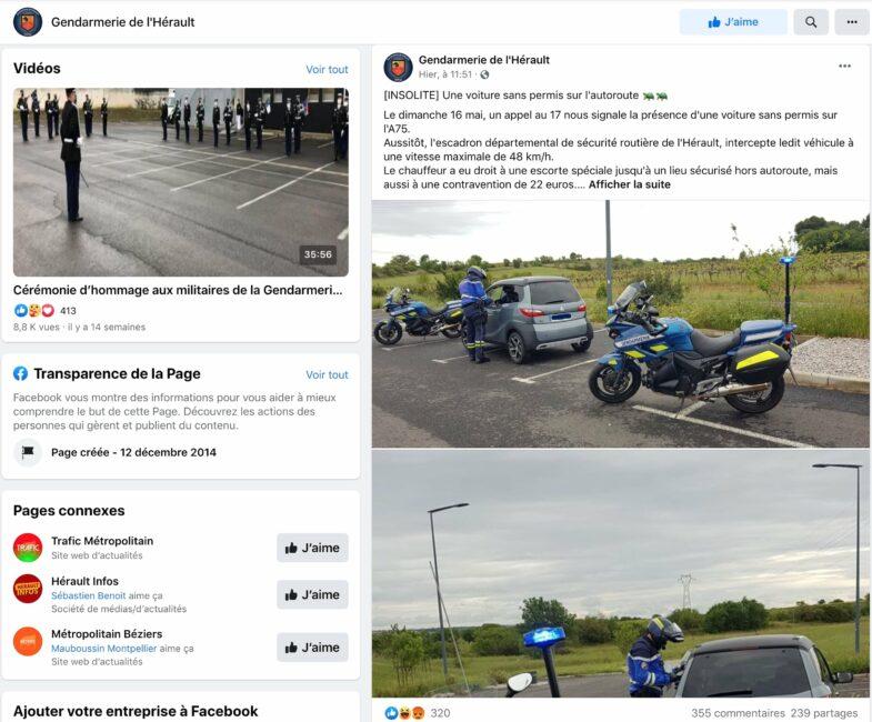 voiture sans permis Hérault