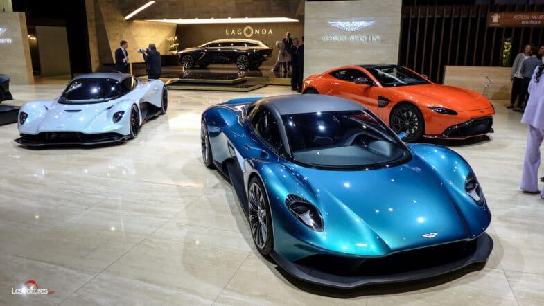 Aston Martin Valhalla Vanquish Mercedes AMG