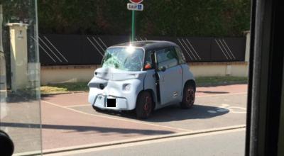 Citroen Ami accident