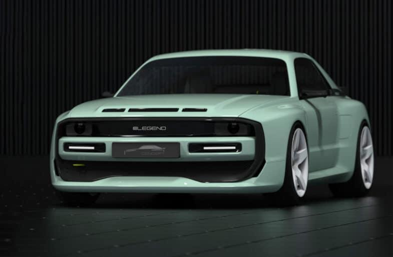 Peugeot e-Legend Concept E-Legend EL1