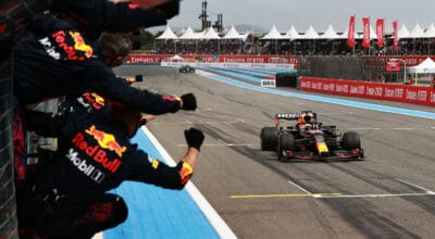 GP de France Max Verstappen