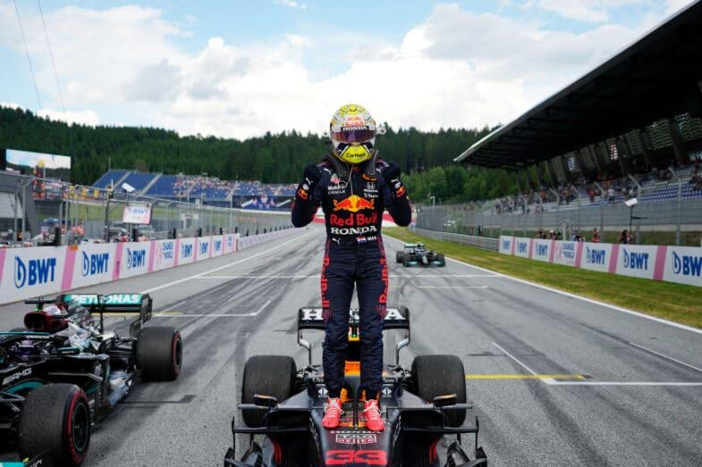 GP de Styrie F1 2021 Max Verstappen