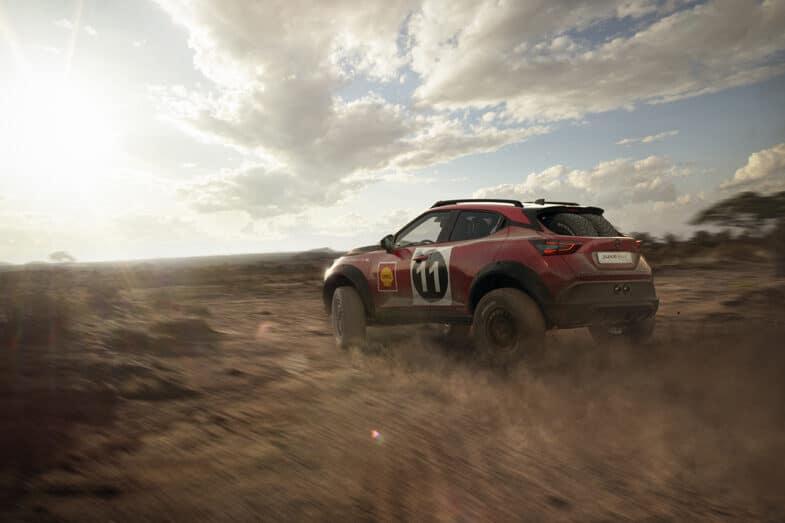 Nissan Juke Rally