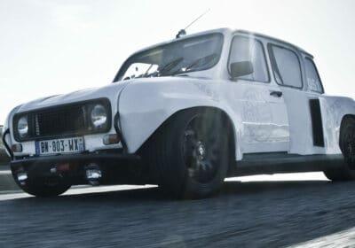 Renault 4L 3000 Renault 4 électrique