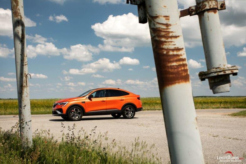 essai Renault Arkana E-Tech hybride