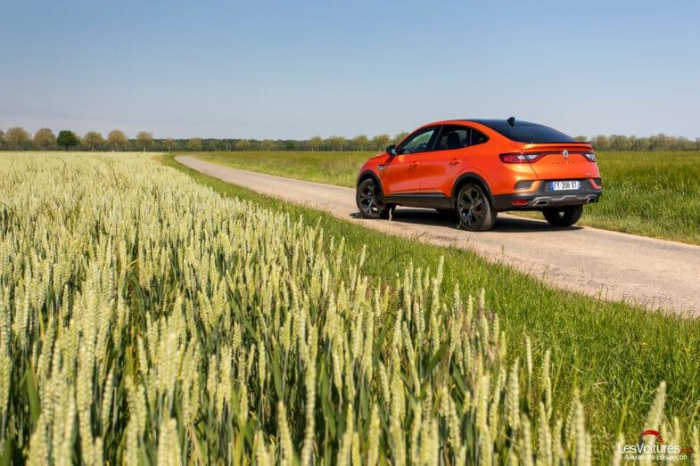 essai Renault Arkana E-Tech hybrid