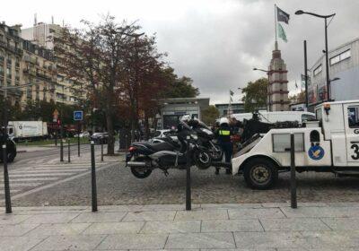 Paris scooters deux roues