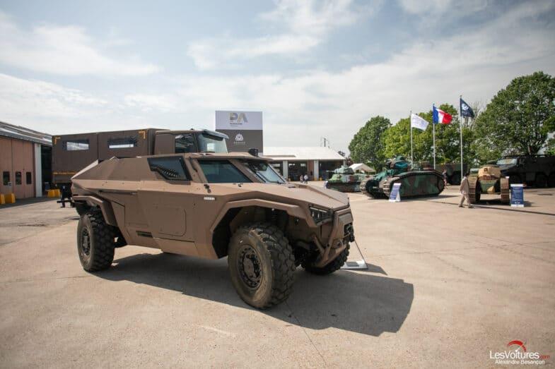 Arquus Scarabée Armée française défilé du 14 juillet fête nationale