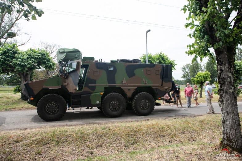 Arquus Armée française défilé du 14 juillet fête nationale