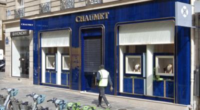 trottinette électrique Chaumet Paris