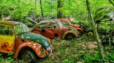 urbex Volkswagen Coccinelle
