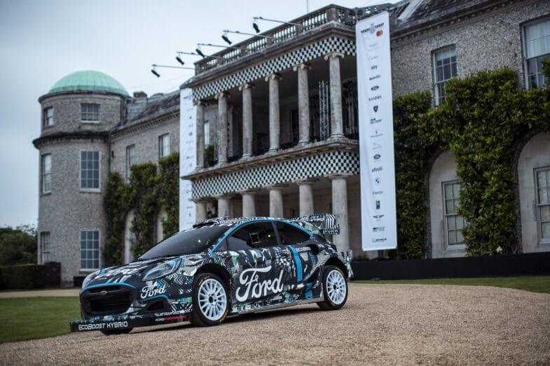 Ford Puma Rally1 WRC 2022