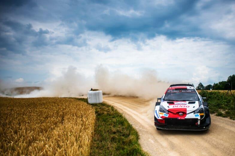 Kalle Rovanpera Rallye d'Estonie WRC