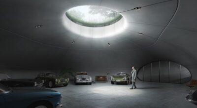 garage de rêve James Bond