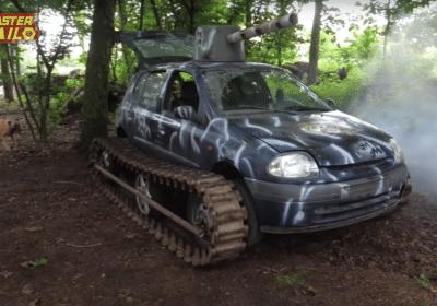 Renault Clio char d'assaut