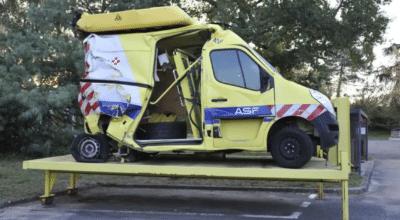 Vinci Autoroutes fourgons accidentés