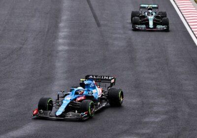 GP de Hongrie Esteban Ocon