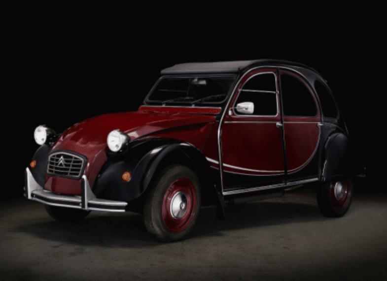 Aguttes Tour Auto Citroën 2CV