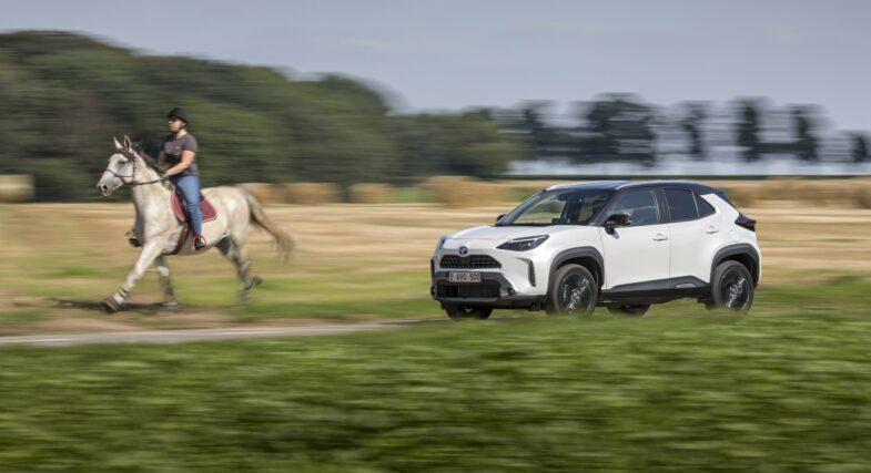 essai Toyota Yaris Cross Hybride SUV urbain