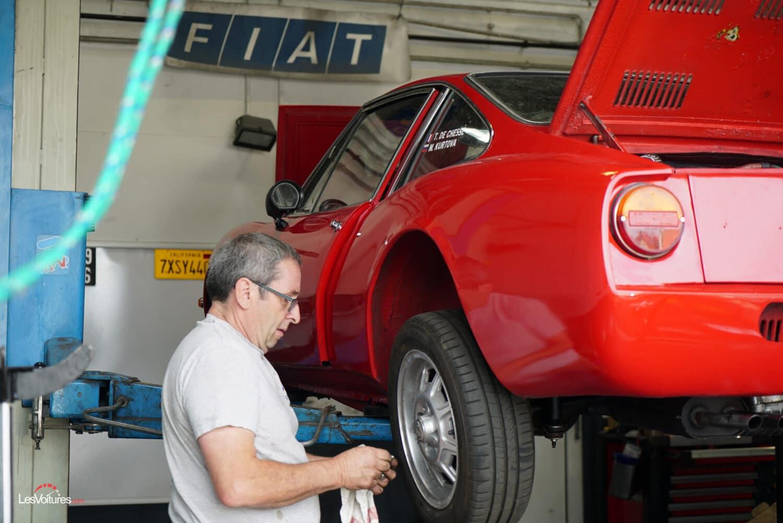 Tour Auto 2021 Fiat 850 Moretti Sportiva