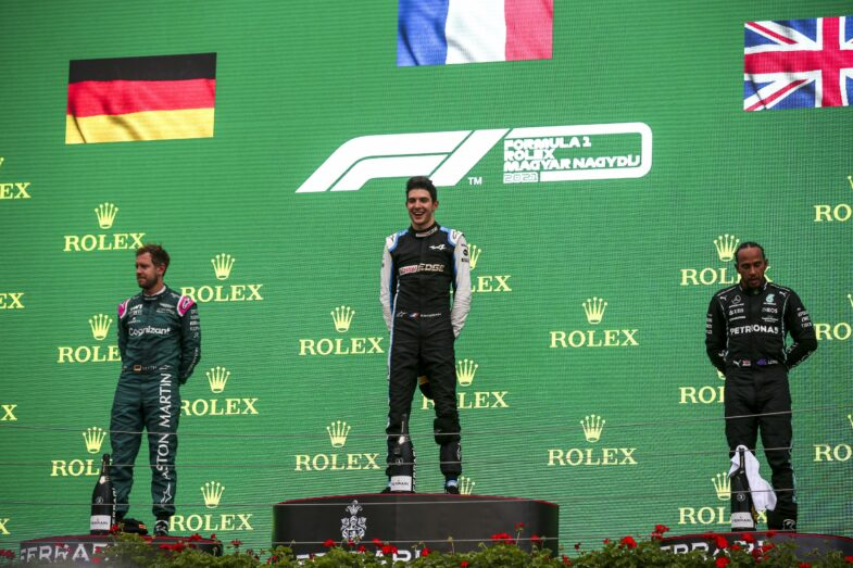 Sebastian Vettel GP de Hongrie
